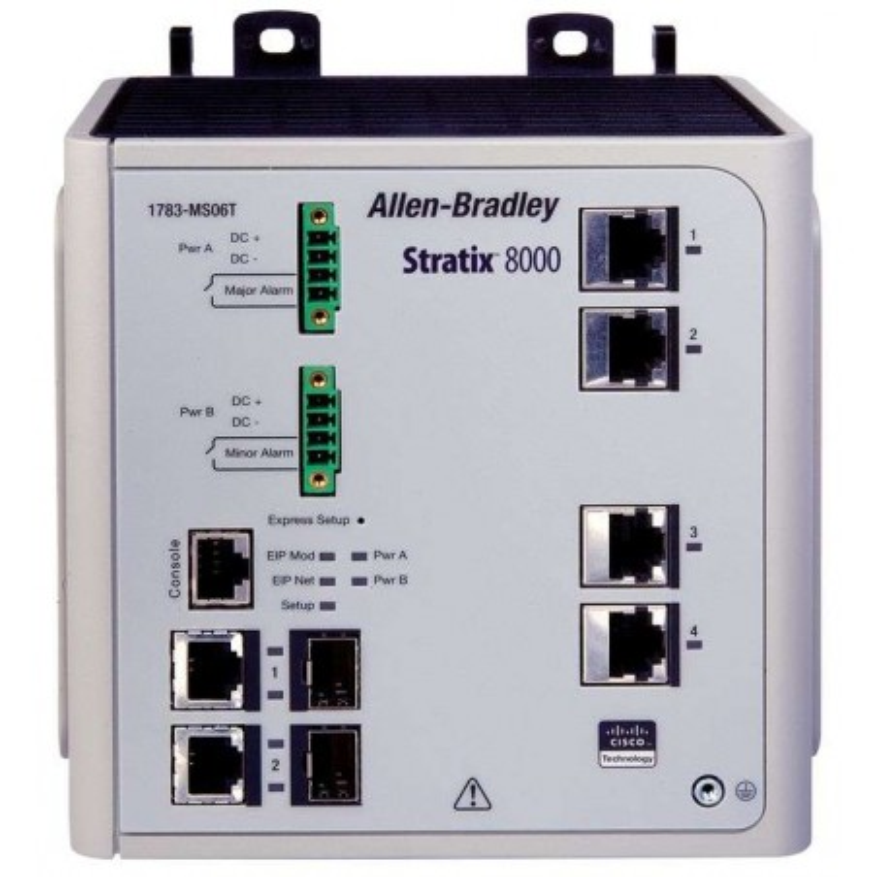 1783-MS06T Allen-Bradley Stratix 8000 Ethernet Switch